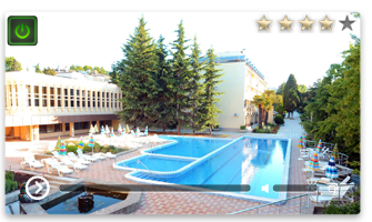 Веб-камера Алушта отель Golden Resort