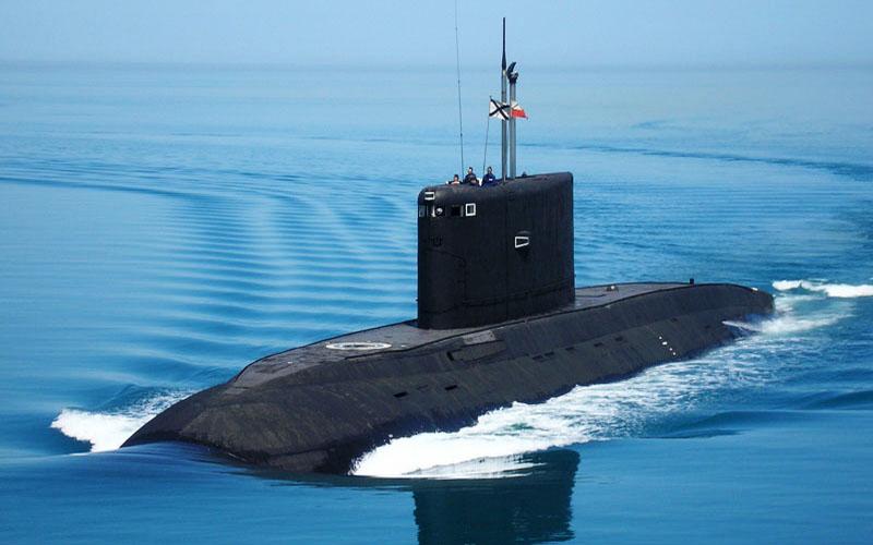 Rússia reforça frota de submarinos diesel-elétrico